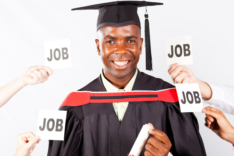 graduate with job offers