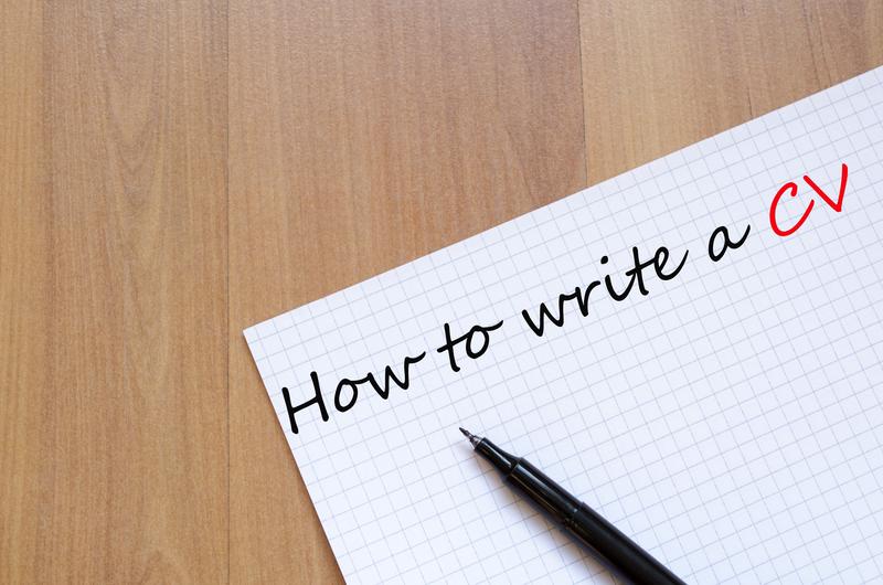 Write a CV
